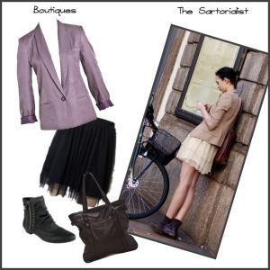 The Sartorialist outfit - shops