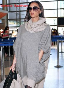 Pregnant Victoria Beckham